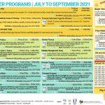 FHC Summer Programs 2021